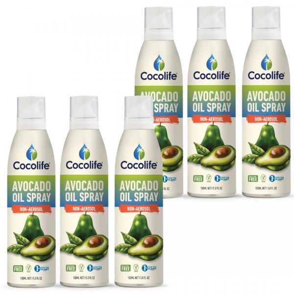 Cocolife Avocado Oil Non-aerosol Spray