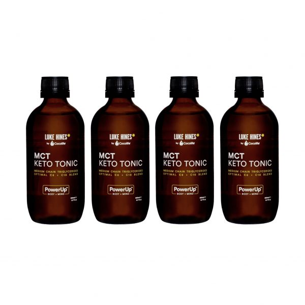 Luke Hines MCT 200ml 4 Pack