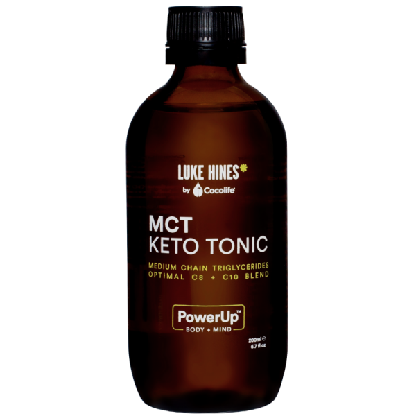Luke Hines by Cocolife MCT Keto Tonic 200ml