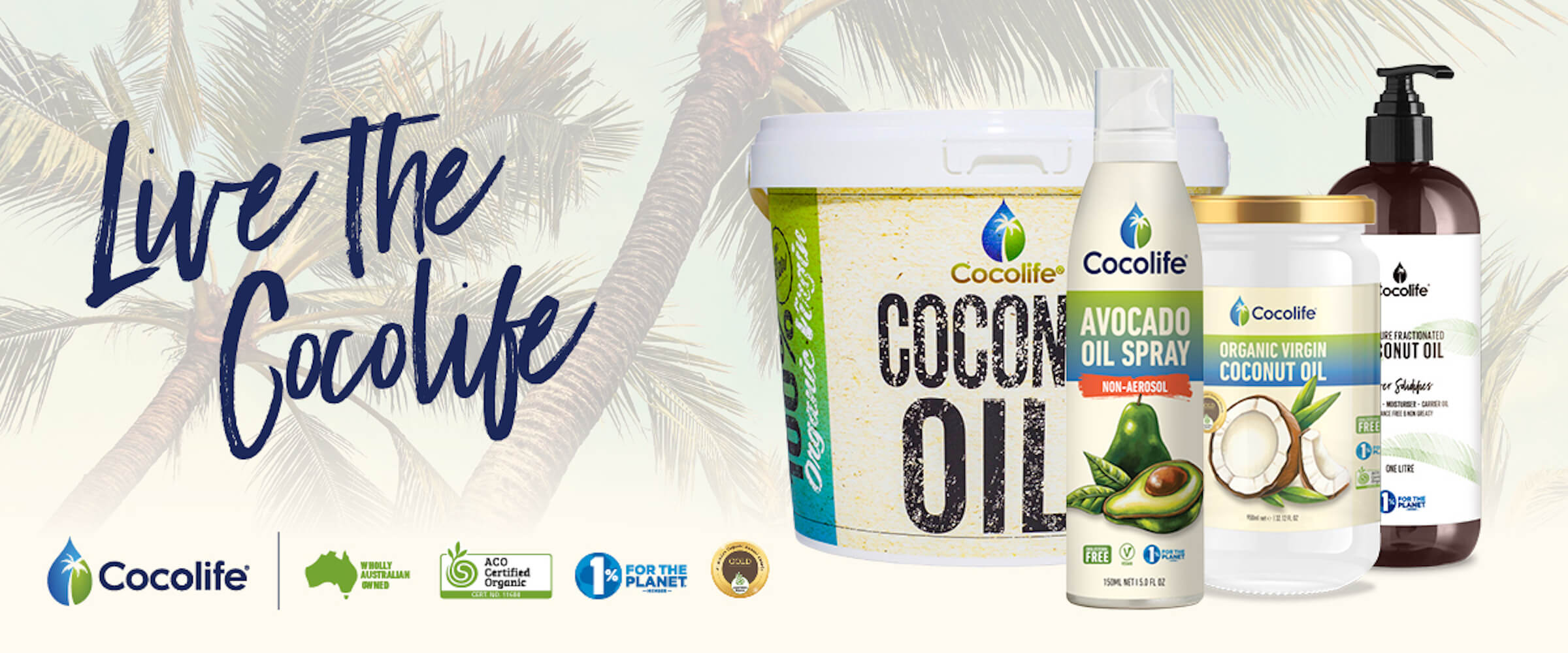 Cocolife Premium Vegan Organic Coconut Avocado Oil Keto Cooking
