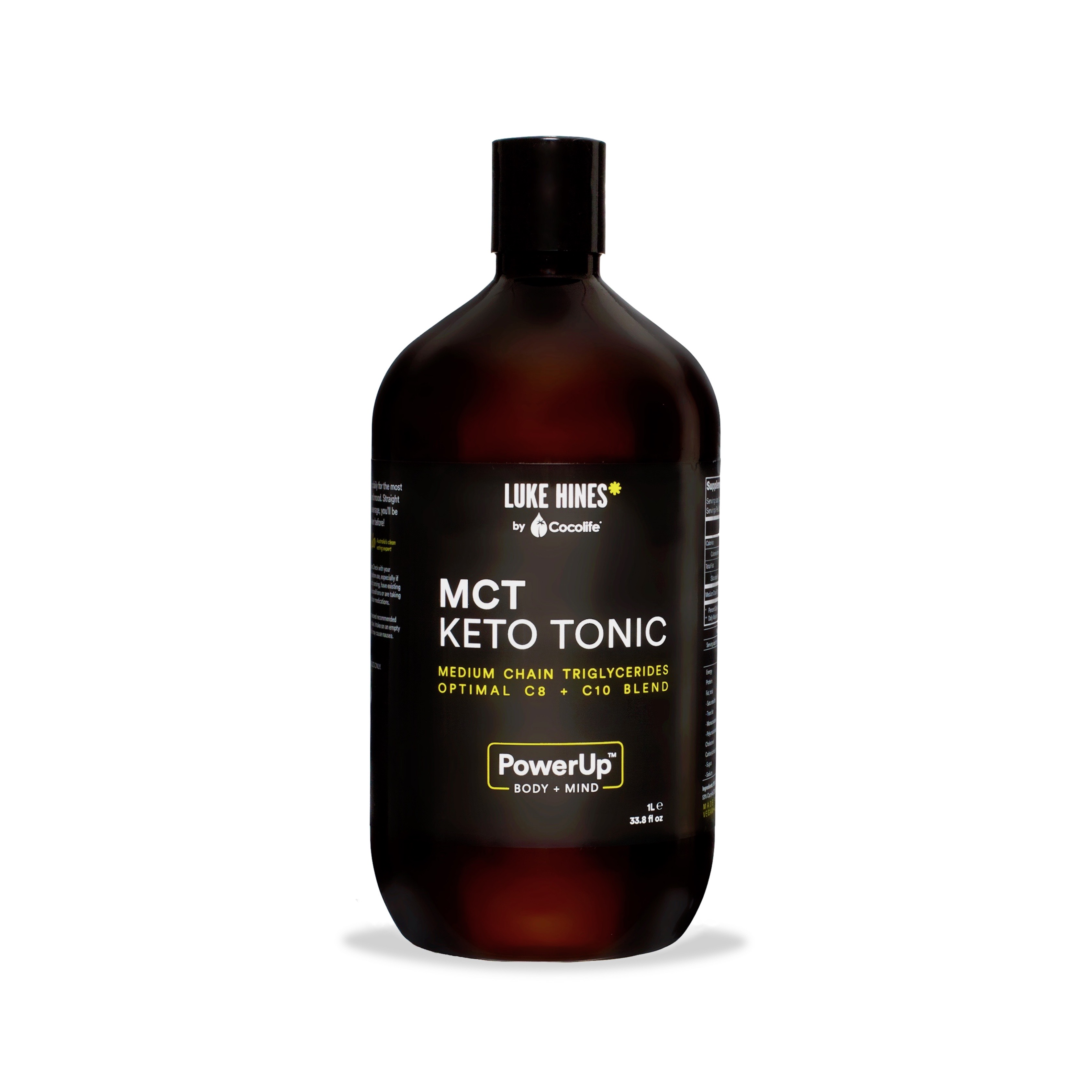 MCT 1 Litre - Luke Hines by Cocolife MCT Keto Tonic