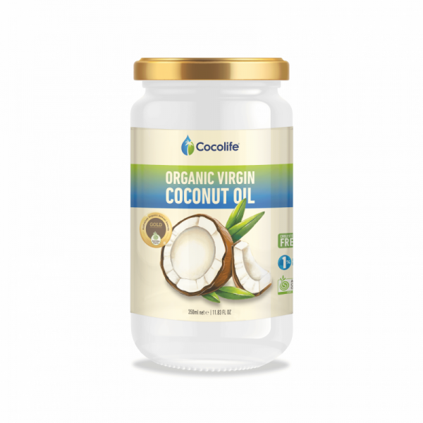 OVCO 350ml | Organic Virgin Coconut Oil by Cocolife