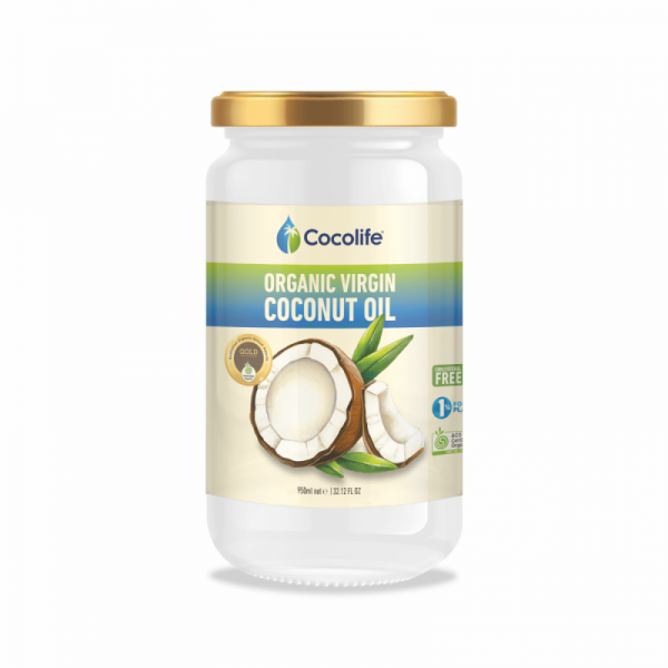 OVCO 950ml | Organic Virgin Coconut Oil by Cocolife
