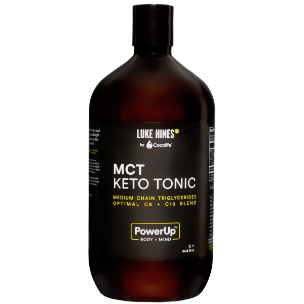 LUKE HINES BY COCOLIFE MCT KETO TONIC – 1 LITRE