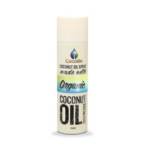 Cocolife Coconut Oil Spray 150g - Certified Organic