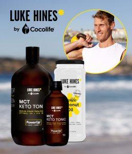Luke Hines MCT Keto Tonic | by Cocolife Australia