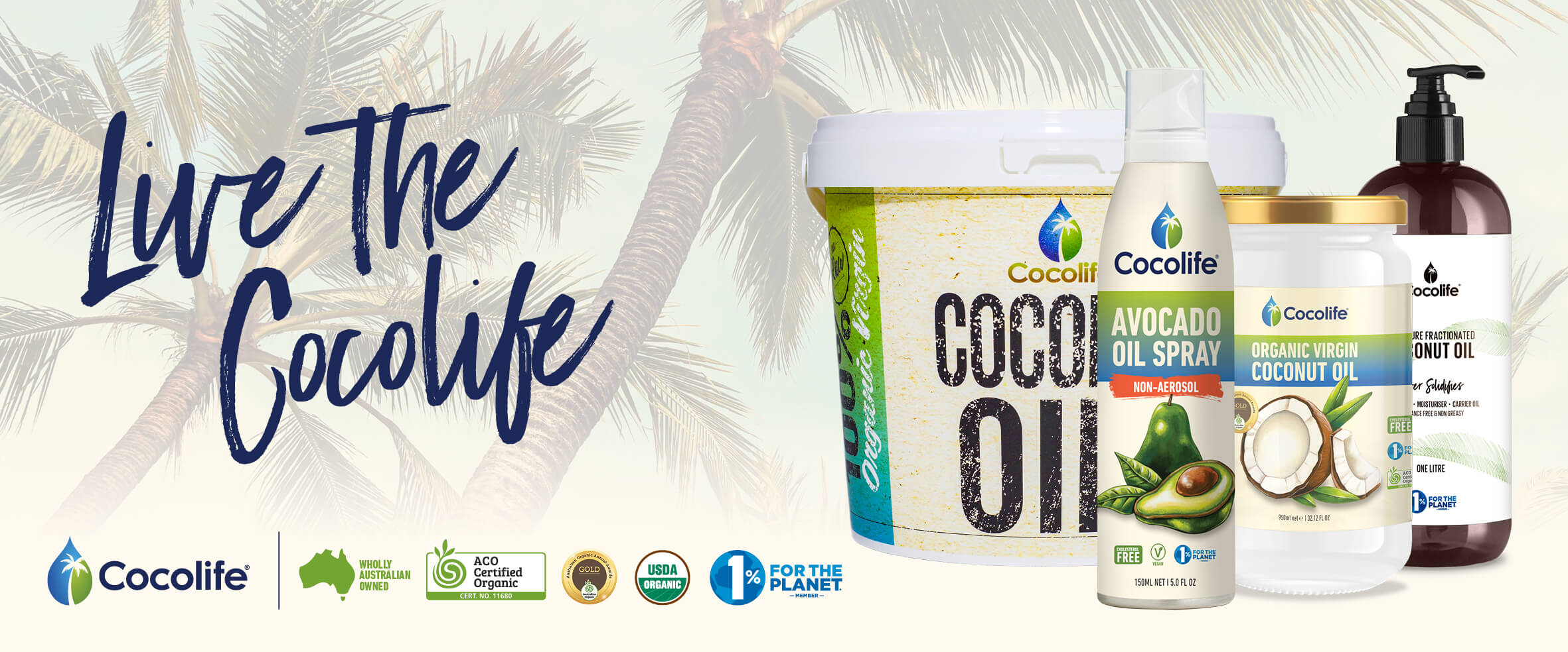 Cocolife Australia Premium Culinary Oils | Vegan, Organic, Healthy Cooking