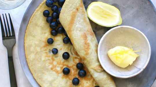 Low Carb Keto Crepes by Luke Hines with MCT Keto Tonic