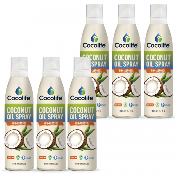 Cocolife Coconut Oil Non-aerosol Spray