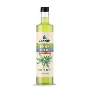 Hemp Seed Oil | 100% Pure, Australian Hemp - by Cocolife