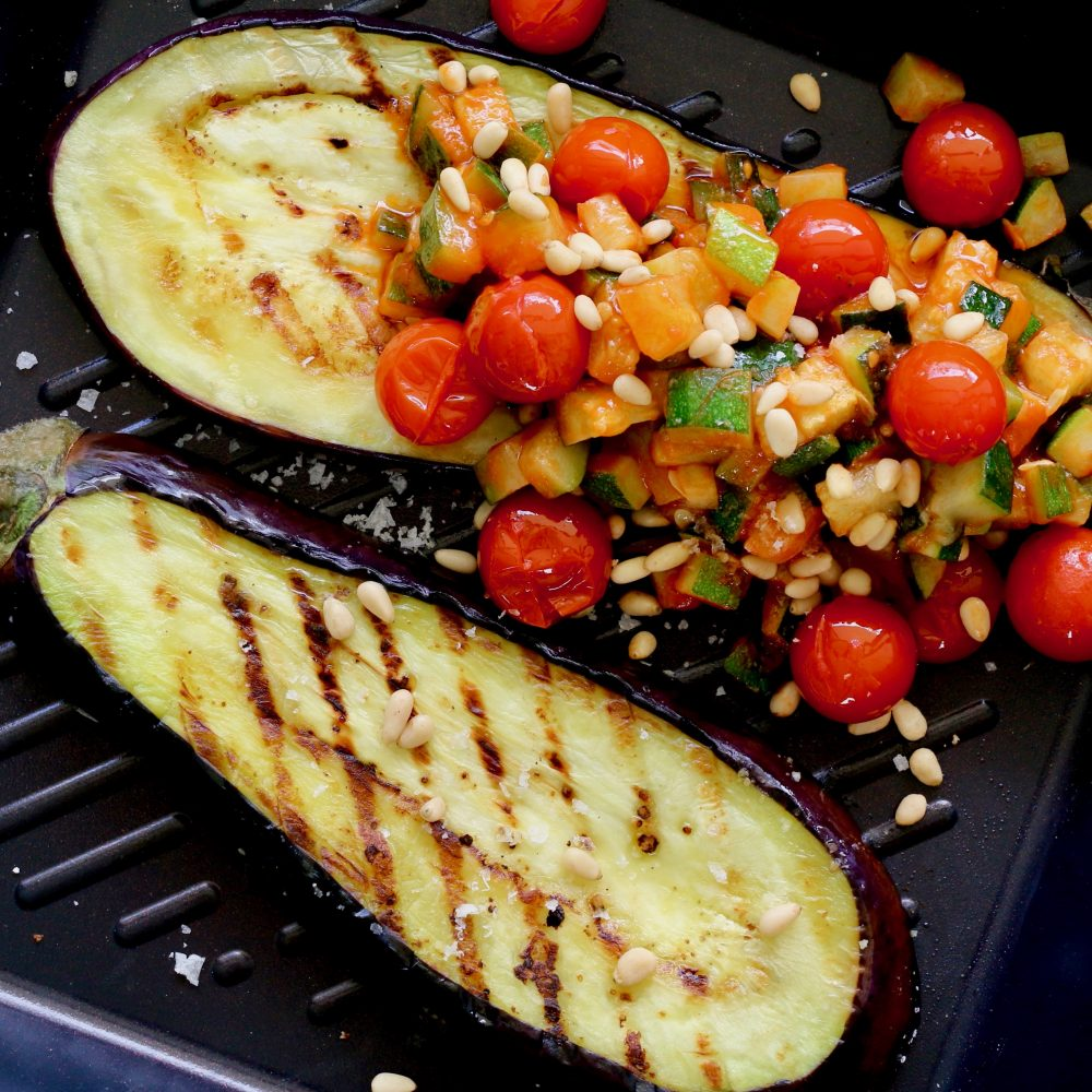 Cocolife Avocado Oil Spray - Eggplant Parmigiana With Zucchini Mince by Luke Hines