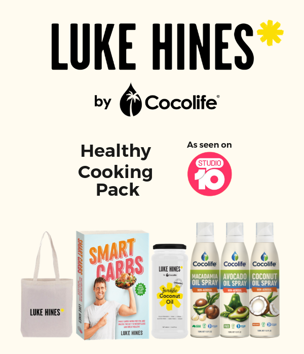 Luke Hines by Cocolife Healthy Cooking Pack on Studio10 | Studio 10