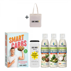Cocolife | Luke Hines Healthy Cooking Pack w Smart Carbs Cookbook