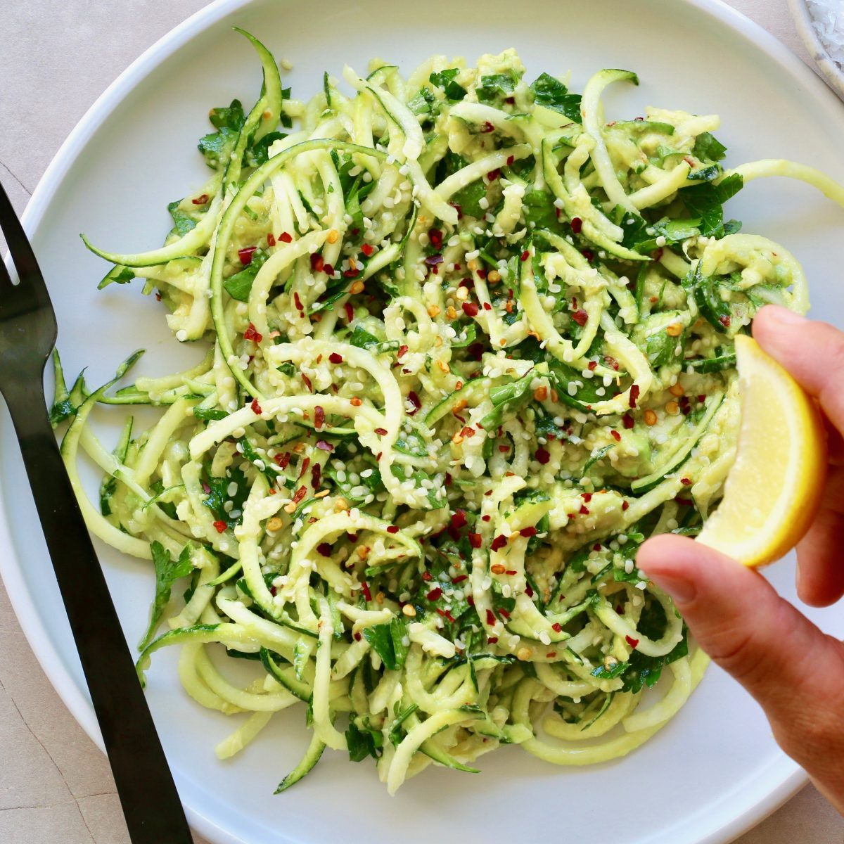 Hemp Seed and Avocado Pasta | Cocolife non-aerosol Avocado Oil Spray
