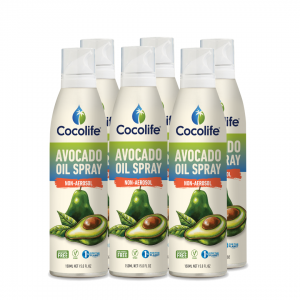 Cocolife non-aerosol Healthy Cooking Oil Sprays - Avocado Oil, Pure & Cold-Pressed