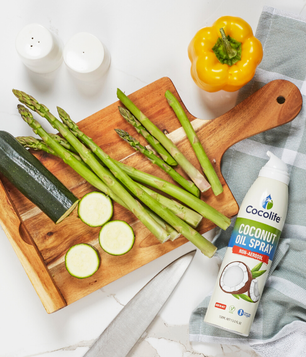 NON-aerosol Healthy Cooking Oil Sprays by Cocolife | 100% Pure, Cold-pressed