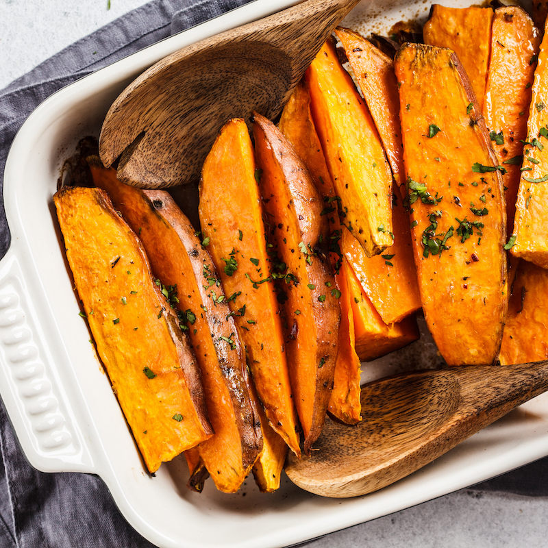 Cocolife | Macadamia Spiced Sweet Potato Wedges - gluten-free healthy vegan recipe