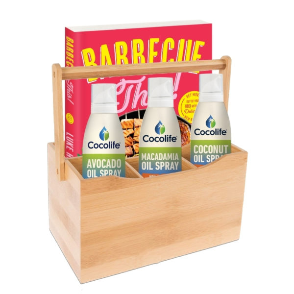 Cocolife Summer Pack with Barbecue This cookbook by Luke Hines